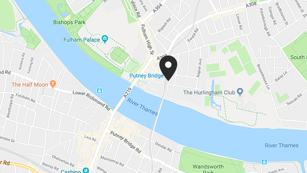 Where to find us - South West London